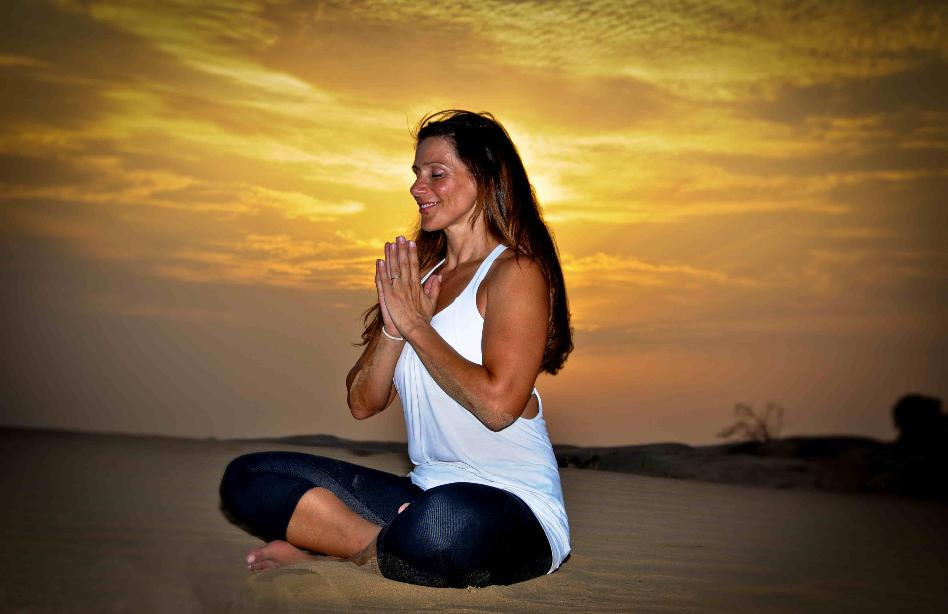 Andree Clement IYOG Yoga  for Cyclists Dubai