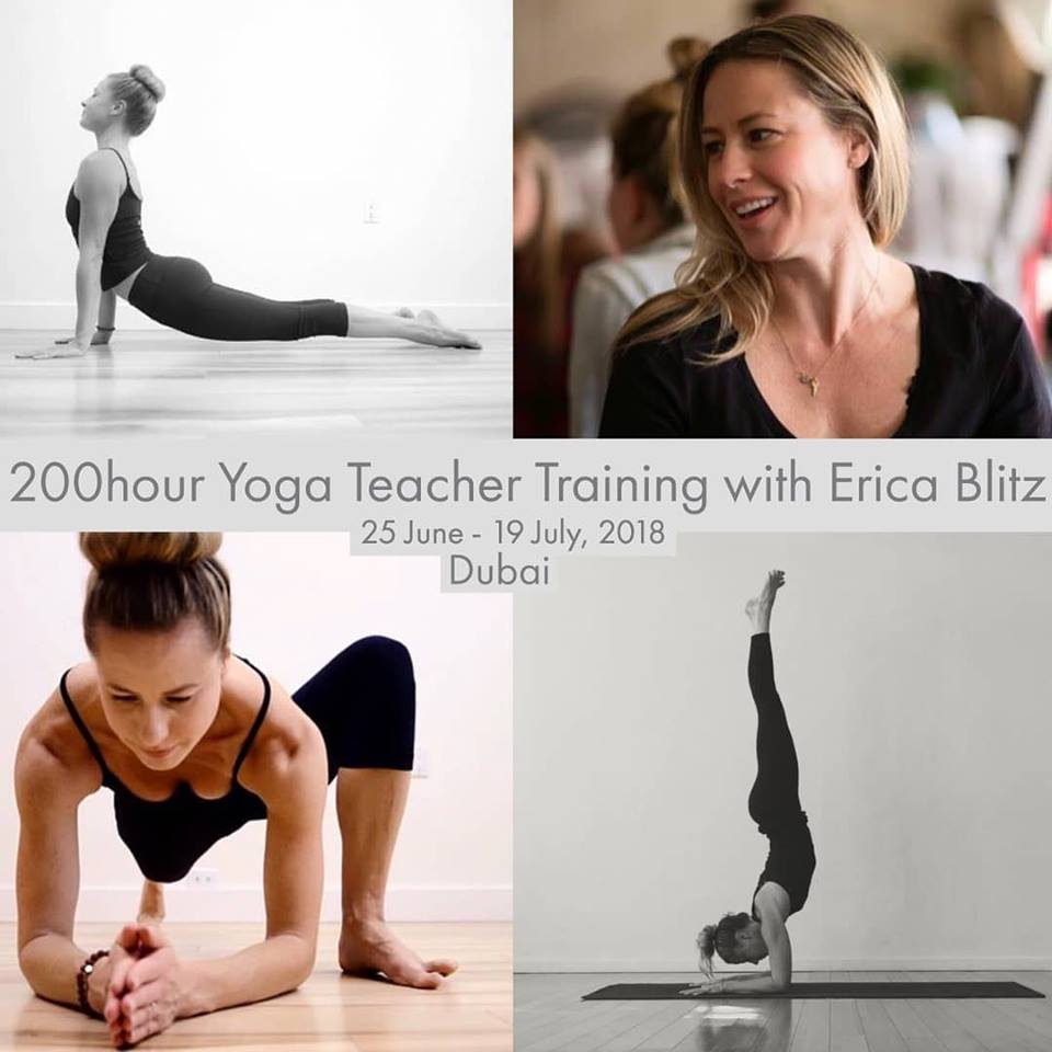 Erica Blitz 200hr Yoga Teacher Training