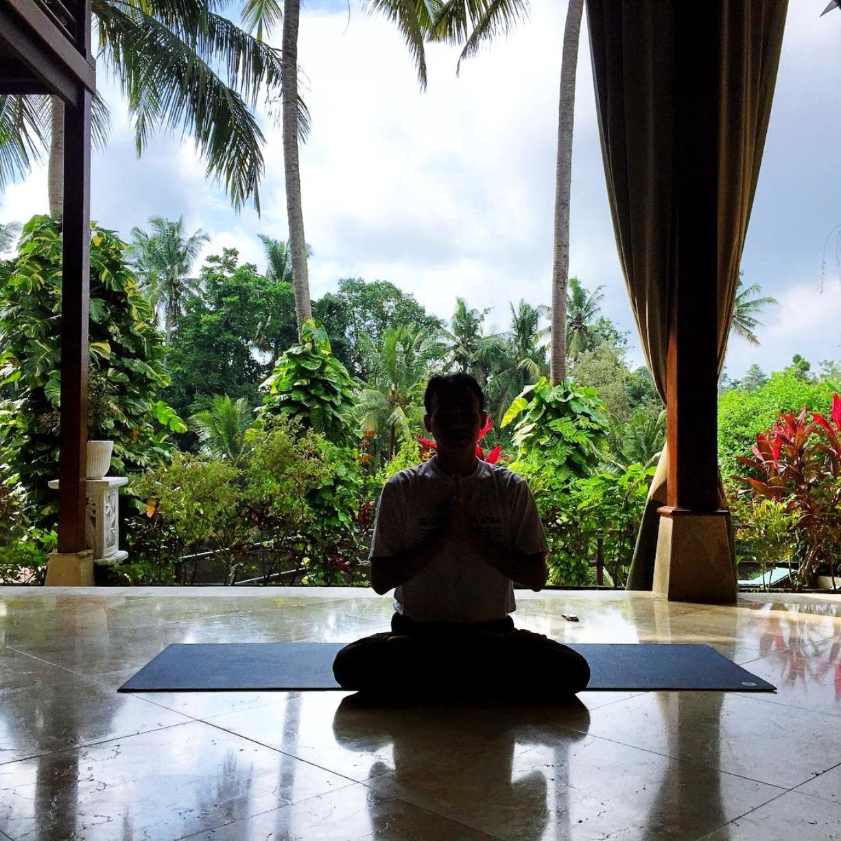 Transcendental Meditation Retreat at Gaia Retreat Center in Ubud Bali